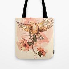 Bird&flowers Tote Bag