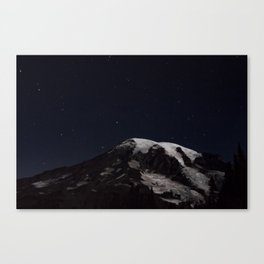 Starlit Mountain II Canvas Print