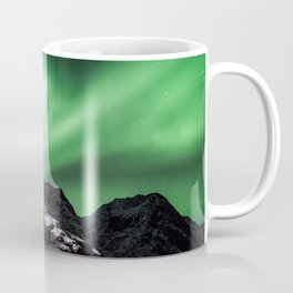Aurora in Lofoten, Norway (II) Coffee Mug