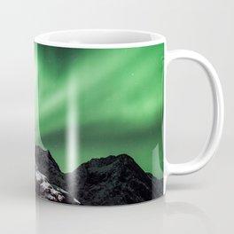 Aurora in Lofoten, Norway (II) Coffee Mug
