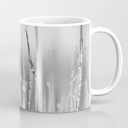 Moss in the rain. Coffee Mug
