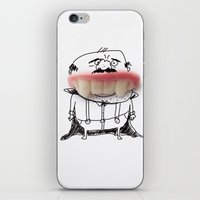 dracula iPhone & iPod Skins featuring Dracula by Ana Sofia Santos