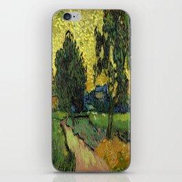 Vincent Van Gogh : Landscape at Twilight iPhone Skin