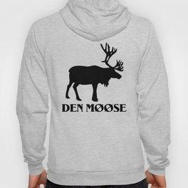 The moose from Scandinavia Hoody