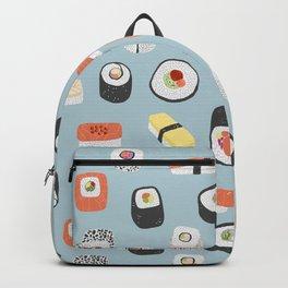 Sushi Roll Maki Nigiri Japanese Food Art Backpack