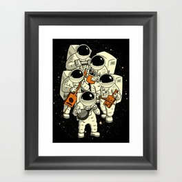 Space Jamboree Framed Art Print