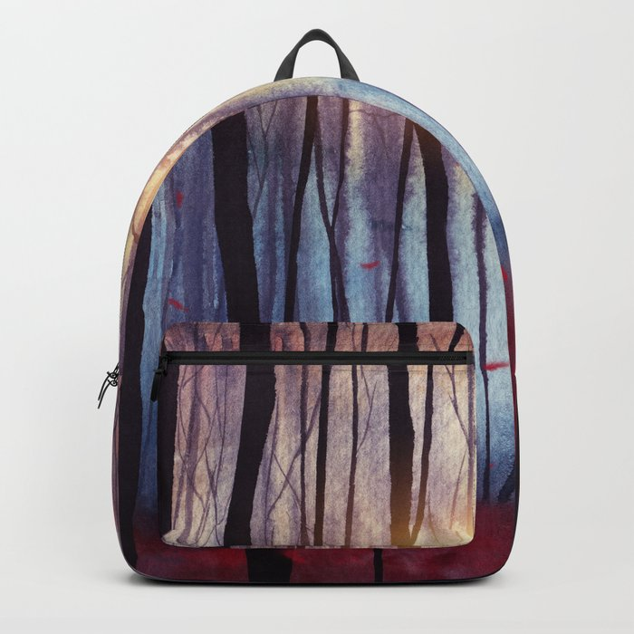 Red Feather Dance Backpack