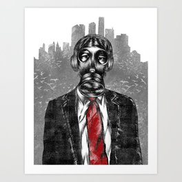 the executive  Art Print