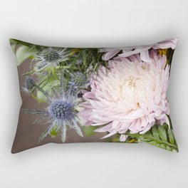 Dahlias in Bloom Rectangular Pillow