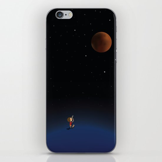 The Red Moon iPhone & iPod Skin
