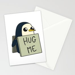 Penguin - Hug Me ! Stationery Cards