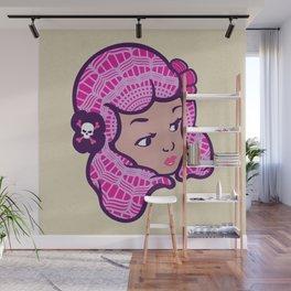 Girl Power Blossom Doll Wall Mural