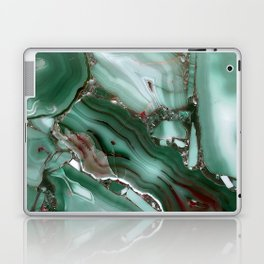 Luxury Malachite Marble Agate Laptop & iPad Skin