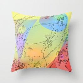 Circus 2 Throw Pillow