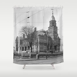 The Knox County Courthouse in Knoxville, Tennessee Shower Curtain
