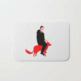 The story about me and the fox Bath Mat