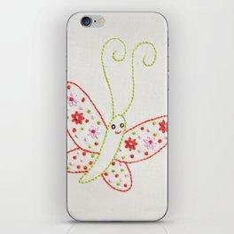 B Butterfly iPhone Skin