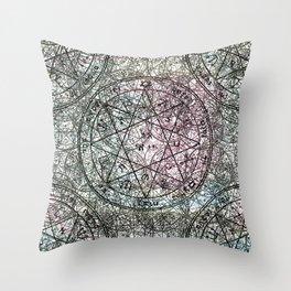 pattern of solomon Throw Pillow