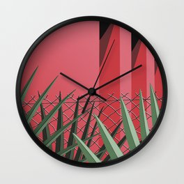 In Tropics Wall Clock