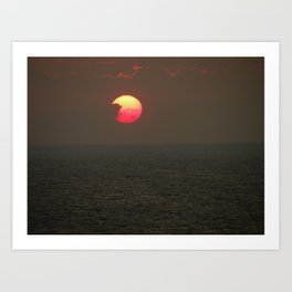 The Sun is Falling Art Print