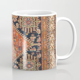Hamadan  Antique West Persian Rug Print Coffee Mug