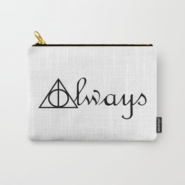 Always Deathly Hallows Symbols Carry-All Pouch