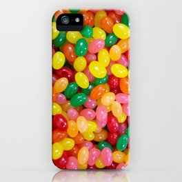 Rainbow Jelly Beans iPhone Case