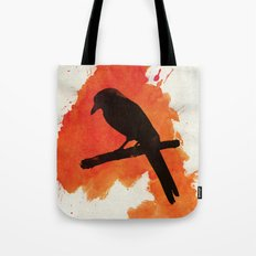 Dark Wings, Dark Words Tote Bag
