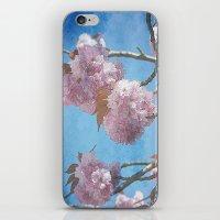 carpe diem iPhone & iPod Skins featuring carpe diem by Angela Bruno