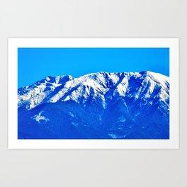 Close-up of the Carpathians Mountains, Transylvania Art Print