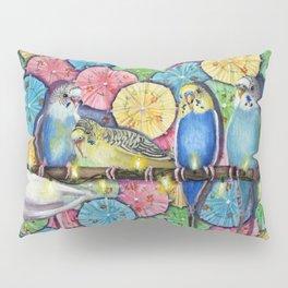 Parakeet Theater Pillow Sham