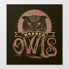 Team Owl Canvas Print