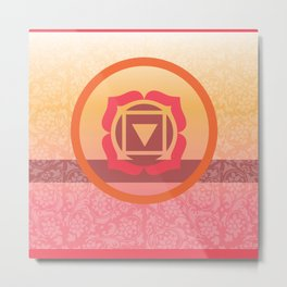Muladhara  - the root Metal Print