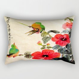 courting season Rectangular Pillow
