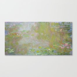 Water Lily Pond by Claude Monet Canvas Print