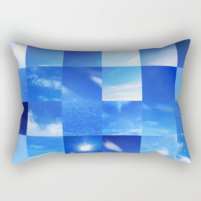 Mother Nature's Quilt Rectangular Pillow