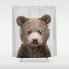 Baby Bear - Colorful Shower Curtain
