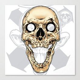 Skull 002 Canvas Print