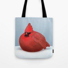 After Christmas cardinal bird Tote Bag