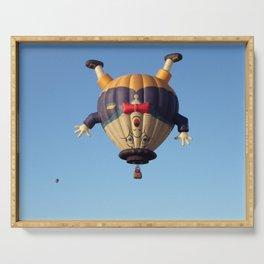 Humpty Dumpty Hot Air Balloon Serving Tray