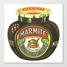 Marmite - Retro Canvas Print