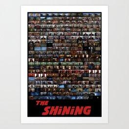 The Shining Art Film Poster Art Print