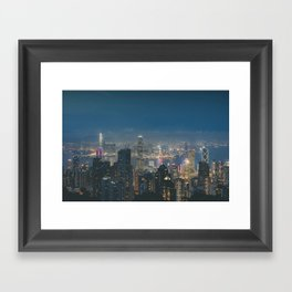 Hong Kong View III Framed Art Print