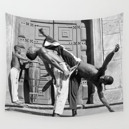 Capoeira c.1996 Wall Tapestry