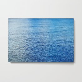 Peaceful Ocean III Metal Print