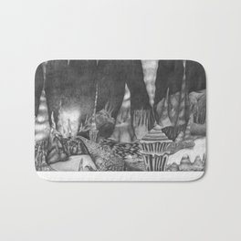 Cavernous Darkness Bath Mat