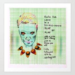 Ana Lies 1ne Art Print