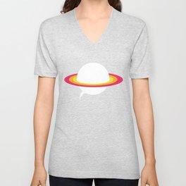 Space talk Unisex V-Neck