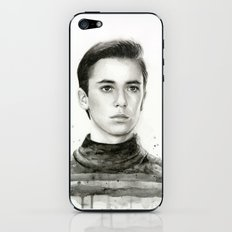 Wesley TNG iPhone & iPod Skin