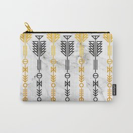 Arrows and Marble Carry-All Pouch